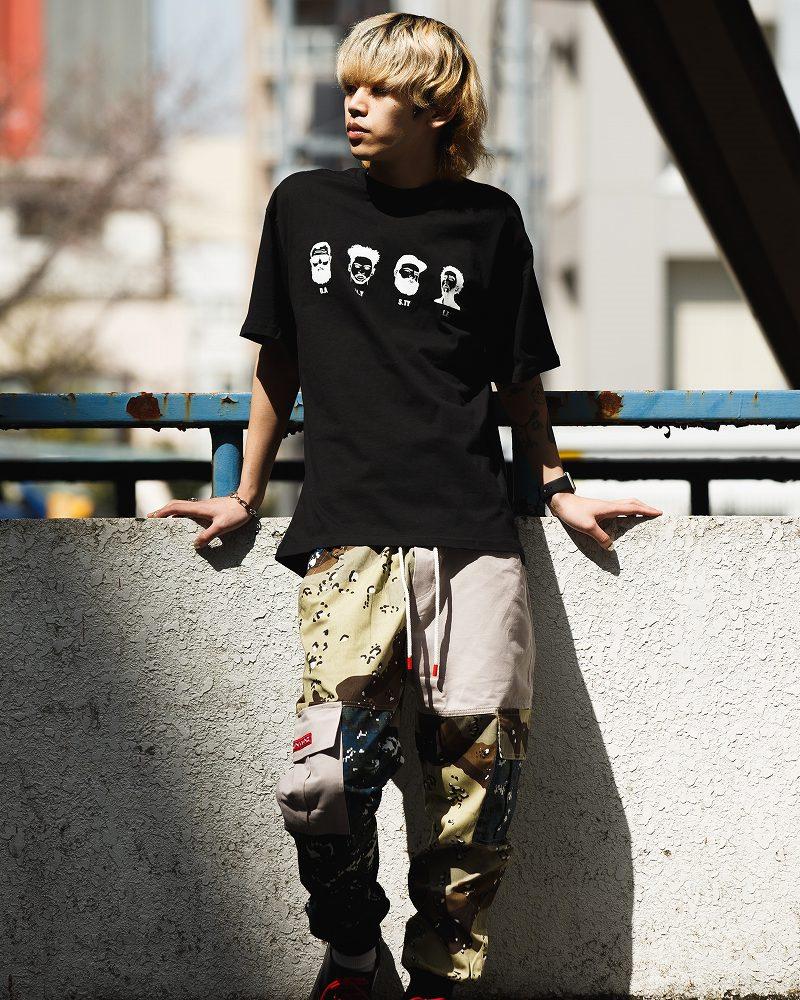 《2色》4guysTシャツの画像6